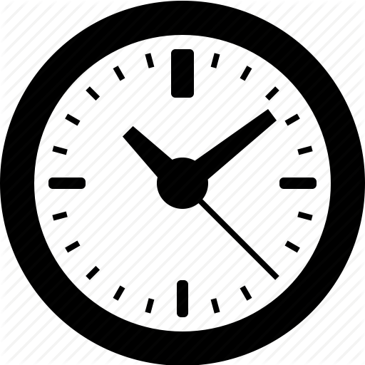 Hours, Period, Schedule, Wall Clock Icon