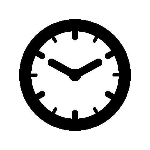 Round Clock Icon