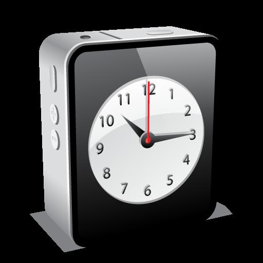 Iphone Black Clock Icon