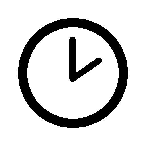 Clock Of Circular Shape