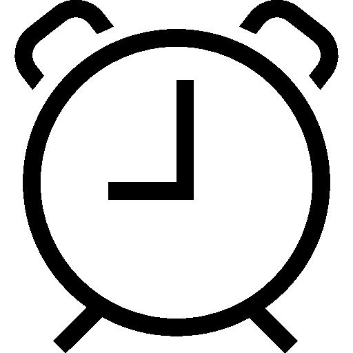 Circular Alarm Clock Icons Free Download