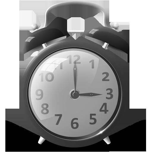 Candy Clock Grey Icon