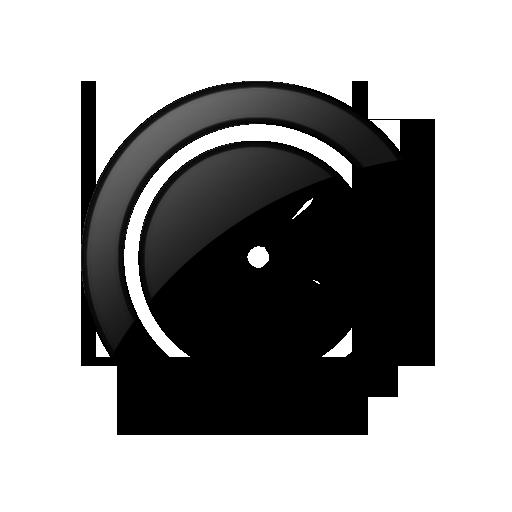Black Clock Icon Images