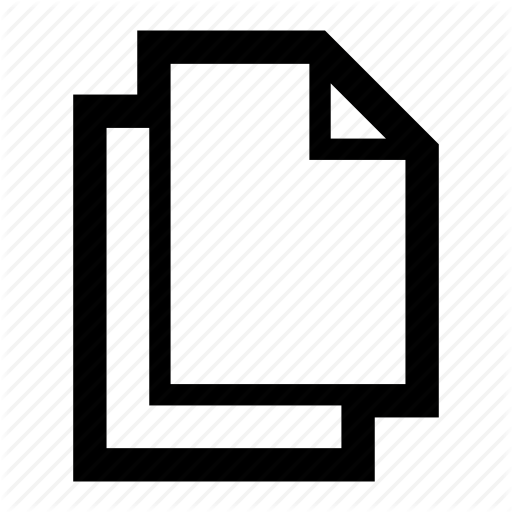 Clone, Copy, Document, Duplicate, Icon