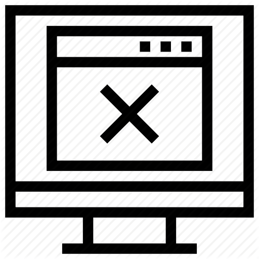 Close Button, Close Window, Web Page, Website, Window Tab Icon Icon