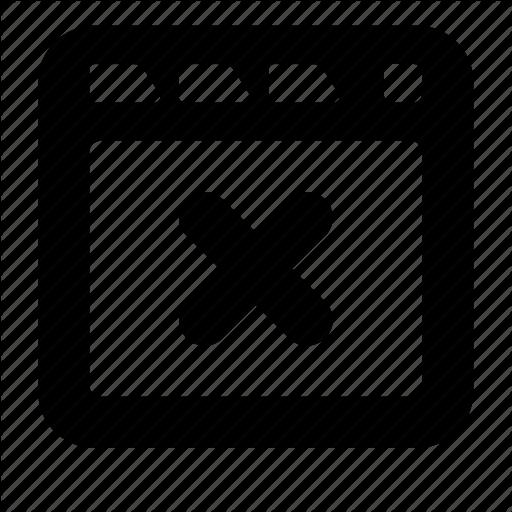 Close, Site, Tab Icon