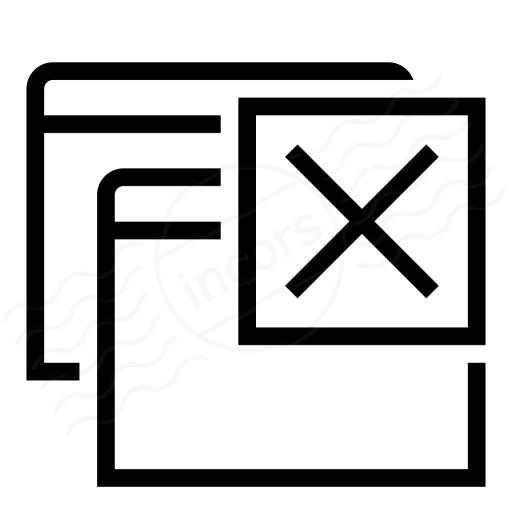 Iconexperience I Collection Windows Close Icon