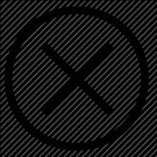 Close, Close Window, Cross, Dismiss, Minimise, Remove Icon
