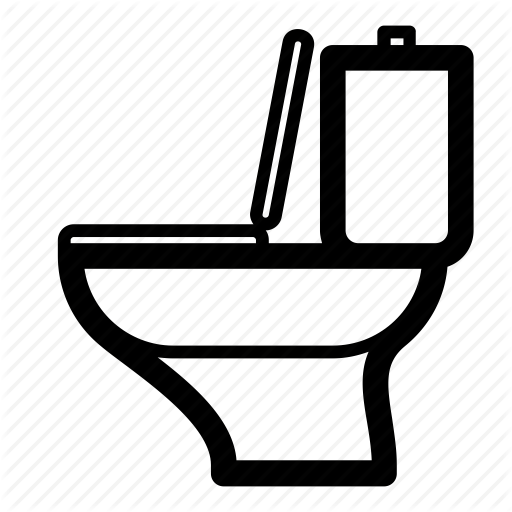 Bathroom, Lavatory, Restroom, Toilet, Water Closet, Wc Icon