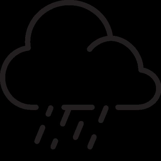 Weather, Raining, Rain, Cloud Icon Free Of Weather Icons Light