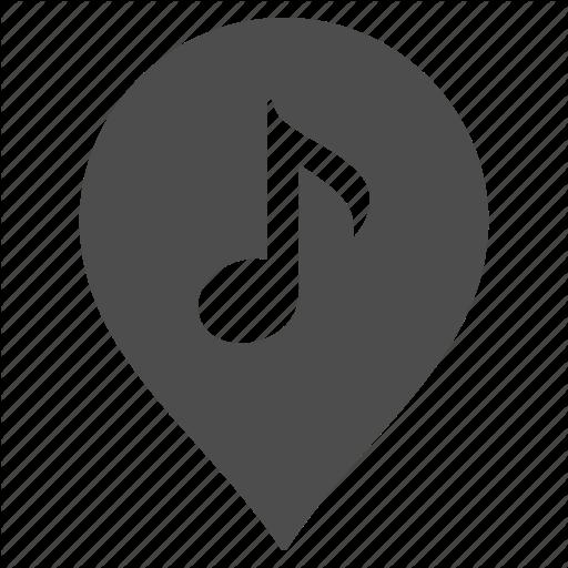 Club, Dance, Map Pointer, Marker, Music, Musical Kiosk, Pn