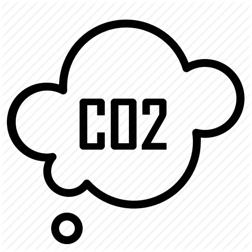 Carbon, Cloud, Dioxide, Ecology Icon