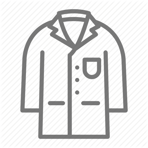 Coat, Lab, Laboratory, Science, Scientist Icon