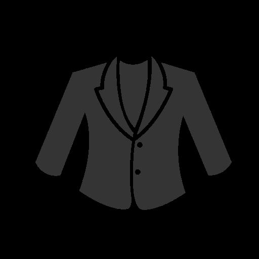 Woman's, Coat Icon Free Of Clothing Icons Black