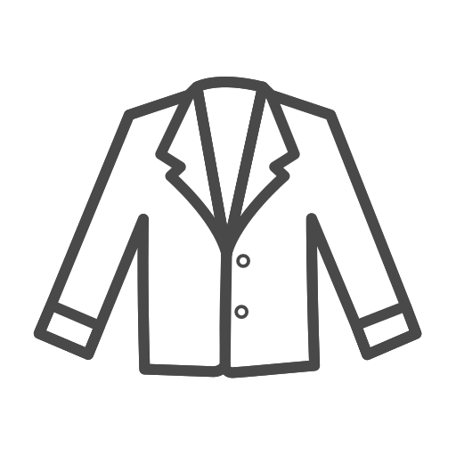 Woman's, Formal, Coat, Blazer Icon Free Of Clothing Icons Stroke