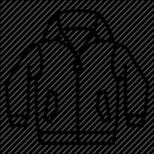 Coat, Jacket, Leather, Windcatcher, Windcheater, Zip Icon