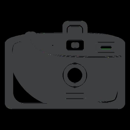 Compact Camera Grey Icon