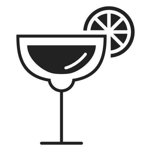 Margarita Cocktail Flat Icon