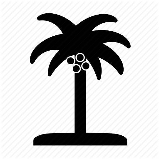 Beach, Coconut, Coconut Tree, Island, Palm, Palm Tree, Summer Icon