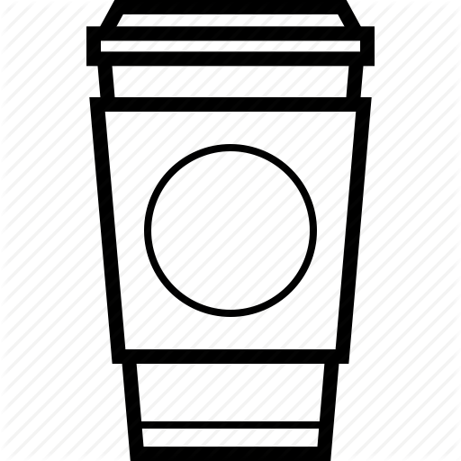 Coffee Cup Outline Transparent Png Clipart Free Download