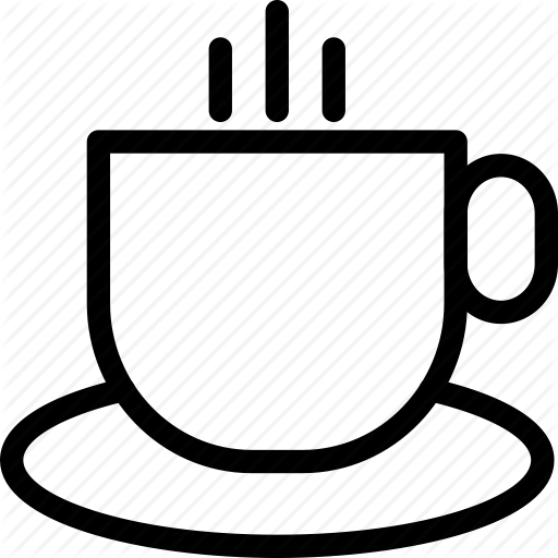 Coffee Cup, Hot Coffee Cup, Hot Tea Cup, Tea Cup Icon