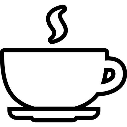 Coffee Cup Outline Icons Free Download