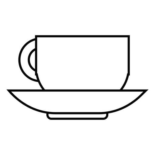 Coffee Cup Stroke Icon