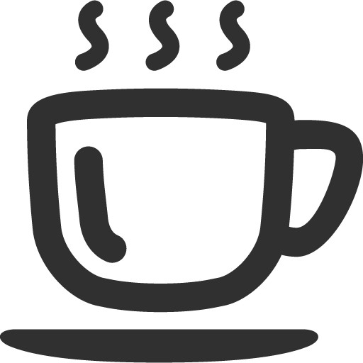 Coffee Icon Mono Business Iconset Custom Icon Design