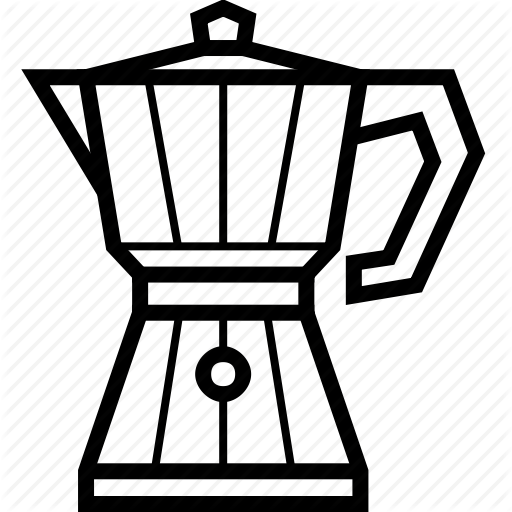 Coffee, Coffeemaker, Espresso, Ground Coffee, Moka, Moka Pot, Pot Icon