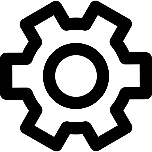 Cogwheel Outline