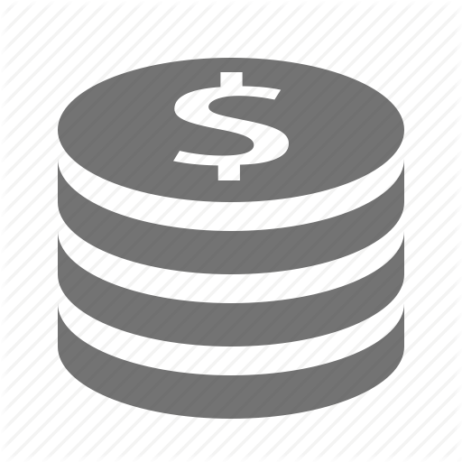 Cent, Change, Coins, Currency, Dollar, Money, Stack Icon