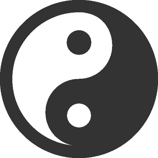 Yin Yang Icon Yin Yang Fish Android, Yin Yang, App