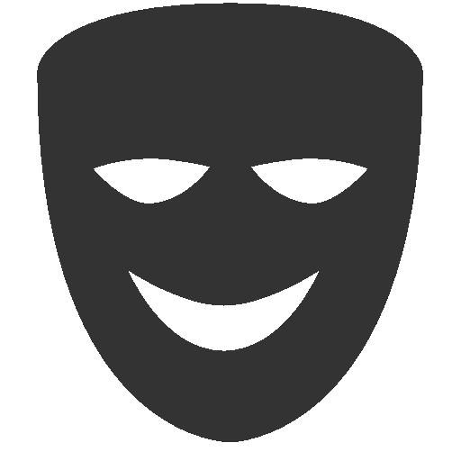 Comedy, Mask Icon