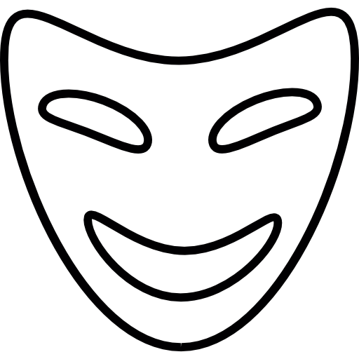 Comedy Mask, Ios Interface Symbol Icons Free Download