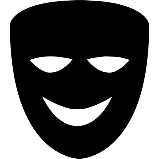 Black Comedy Icon