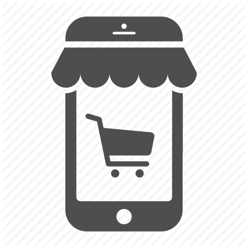 Business, Ecommerce, Mobile, Phone, Shop, Shopping, Store Icon
