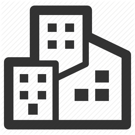 Commercial Real Estate Map Icon