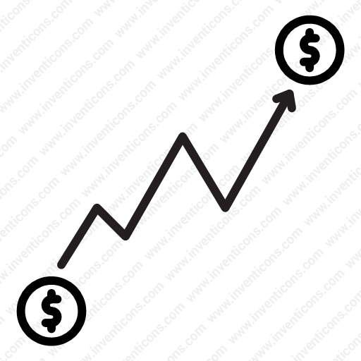 Download Up Trend Icon Inventicons