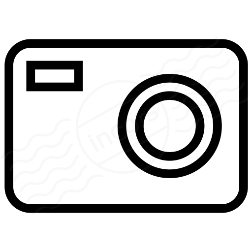 Iconexperience I Collection Compact Camera Icon