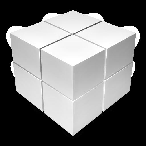 Light Cube Off Icon