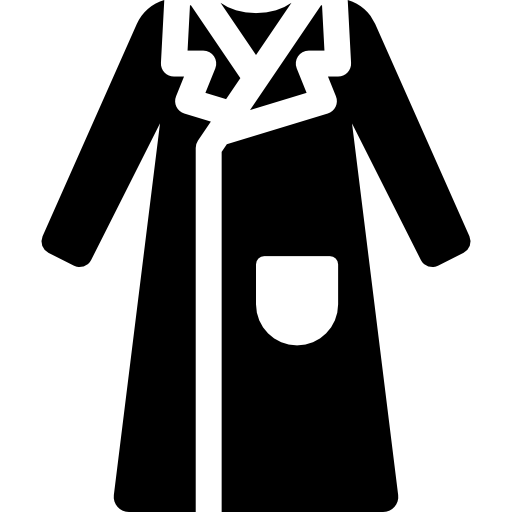 Women Long Coat Icons Free Download