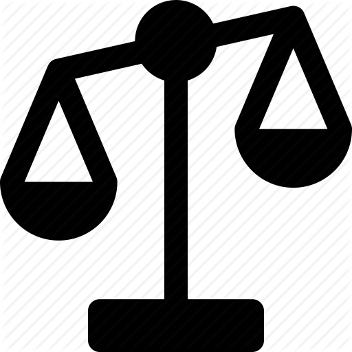 Comparison, Equality, Justice, Law, Legal, Scale Icon