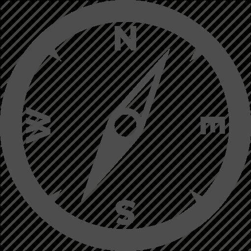 Compass, Direction, Navigation, Orientation, Path Icon