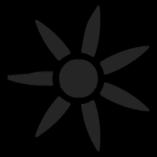 Complex Flower Icon