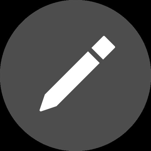 Edit, Write, Draw, Circle, Compose Icon