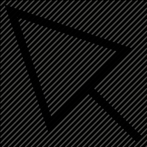 Arrow, Computer, Cursor, Internet, Mouse, Pointer Icon