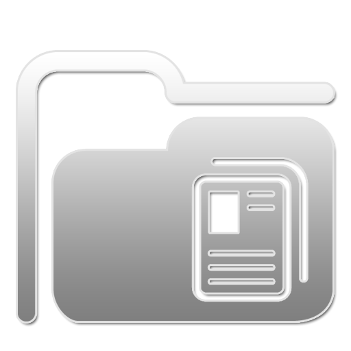 Document, Folder, Paper, Icon