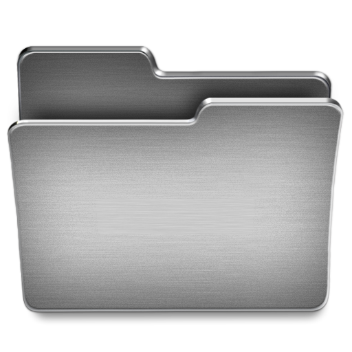 Folder Icon Steel System Iconset
