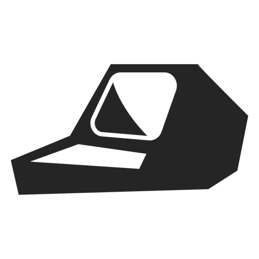 Old School Computer Icon