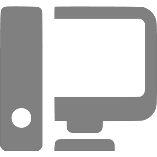 Gray Workstation Icon